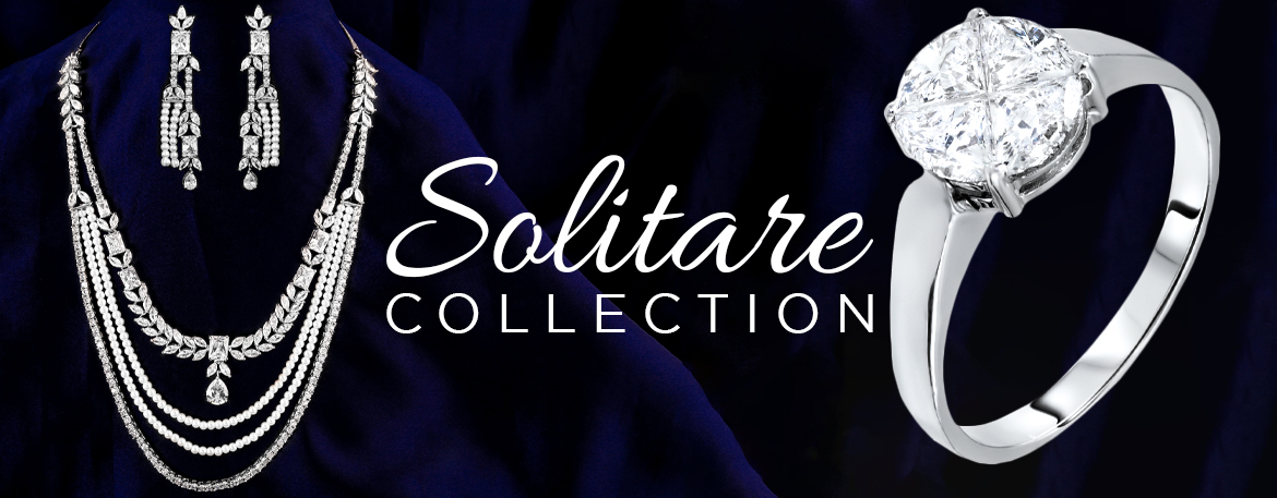 solitaire jewellery, solitaire necklace, solitaire rings