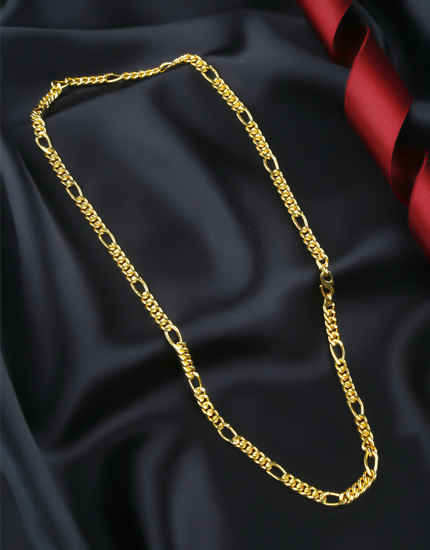Designer Gold Finish Chain For Men Stylish