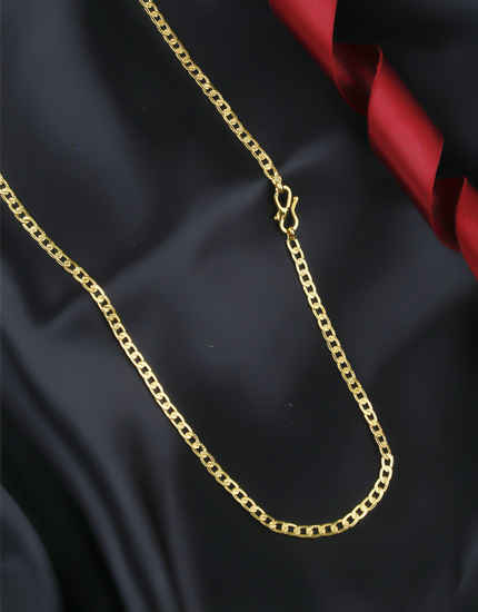 Delicate Simple Gold Finish Chain Accessories