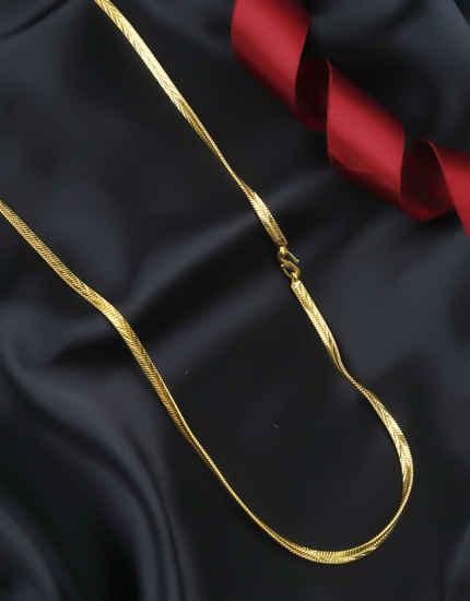Fancy Gold Finish Chain Fancy Wear