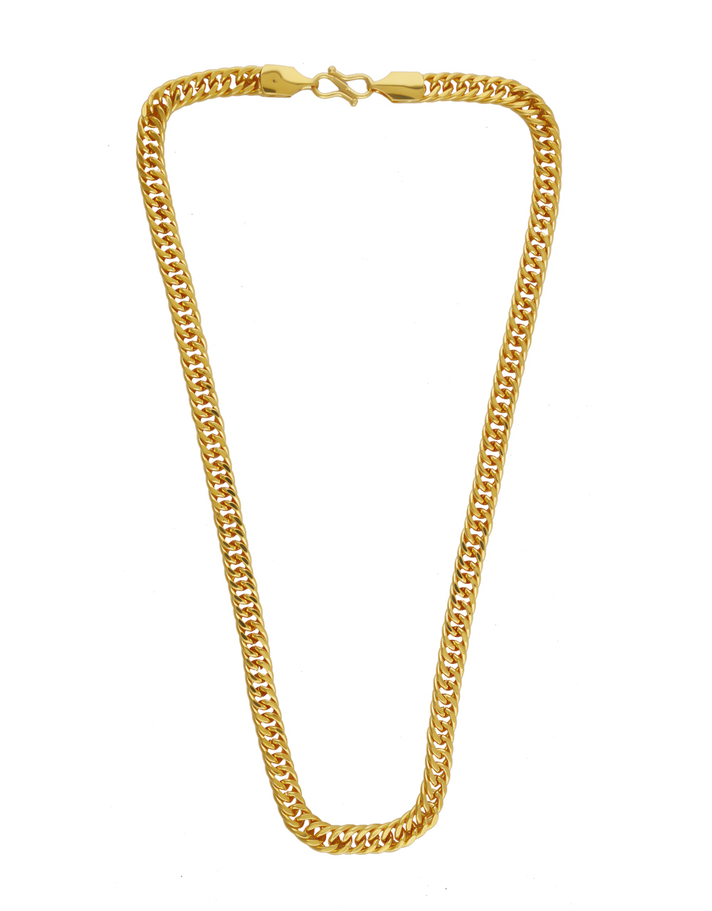 Antique Gold Finish Chain For Mens Wear