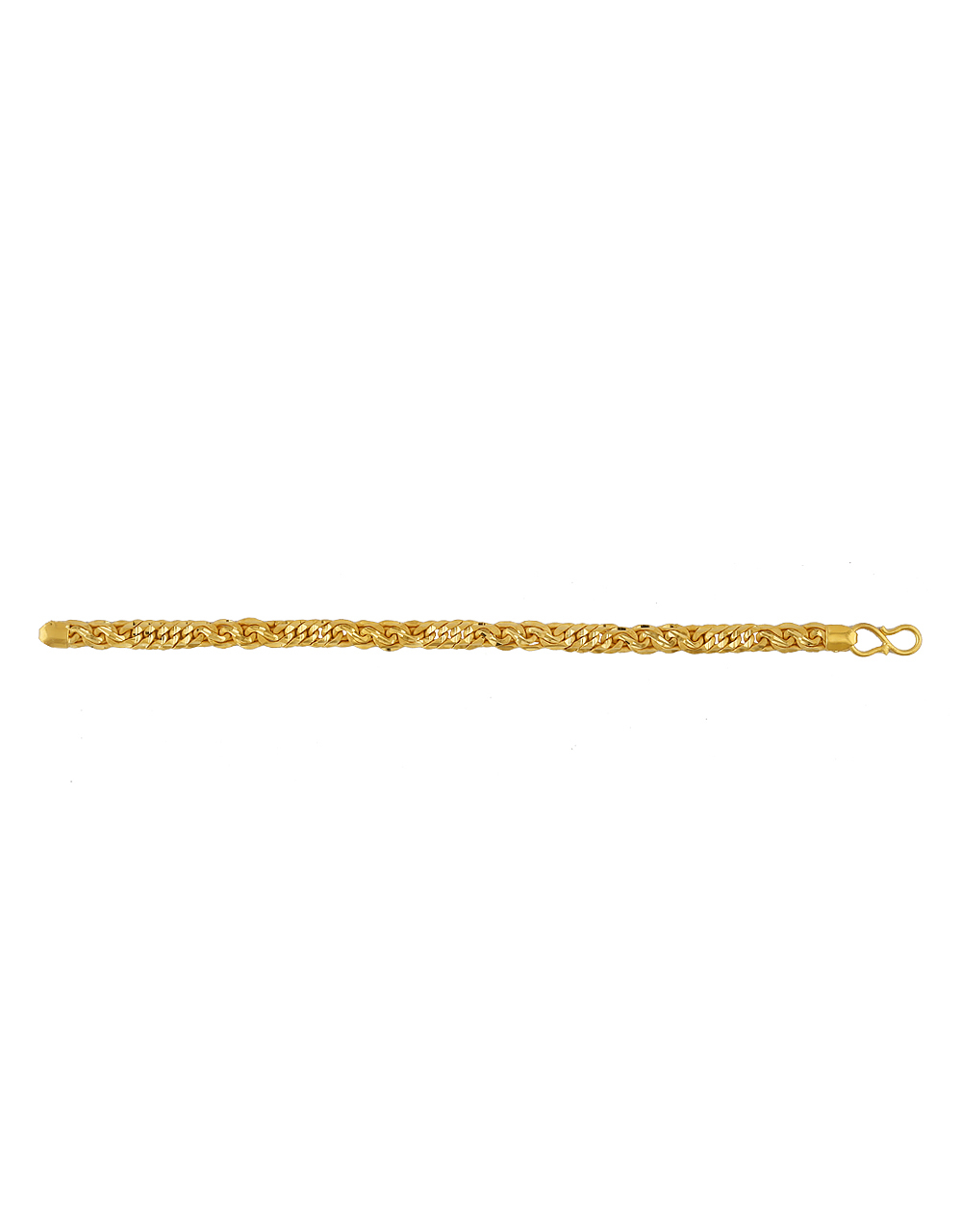 Fancy Gold Finish Breacelets For Guys