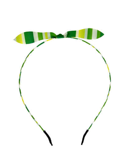 Green Colour Beautiful Hair Band For Girls Fancy Wear