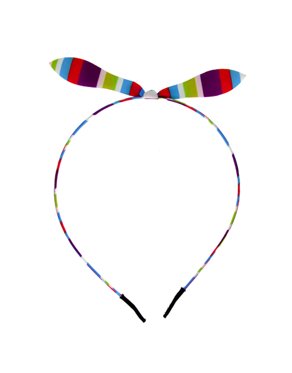 Simple Multi Colour Hair Band Jewellery For Little Girls