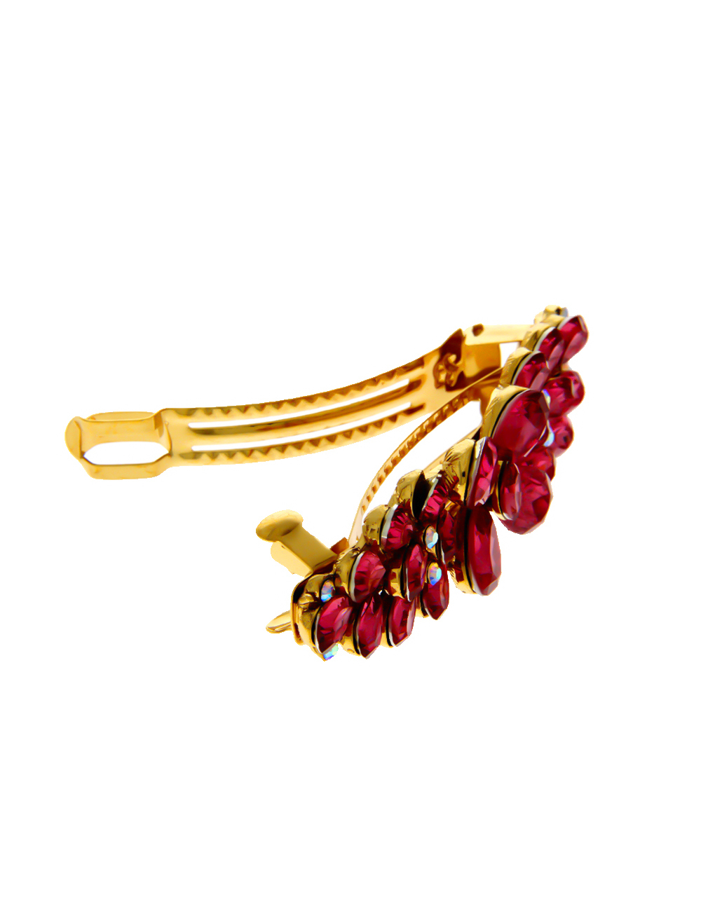 Rani Colour Gold Finish Party Wear Hair Jewellery For Women