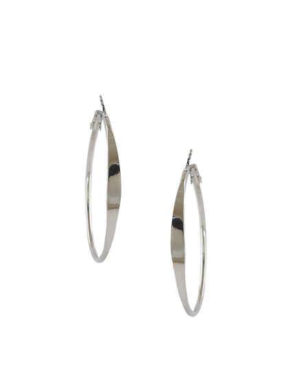 Silver Finish Western Wear Korean Earrings For Girls