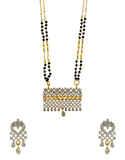 Fancy Adorable Gold Finish American Diamond Fancy Mangalsutra