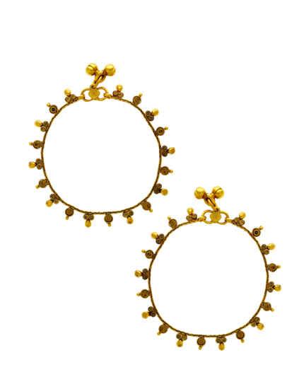 Gold Finish Stylish Stunning Traditional Payal