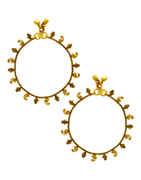 Gold Finish Stunning Payal For Wedding Wear