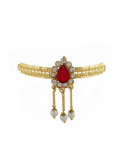 Anuradha Art Jewellery Adorable Ganpati Bajuband.