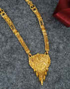 Traditional Pattern Long Chain Mangalsutra For Women