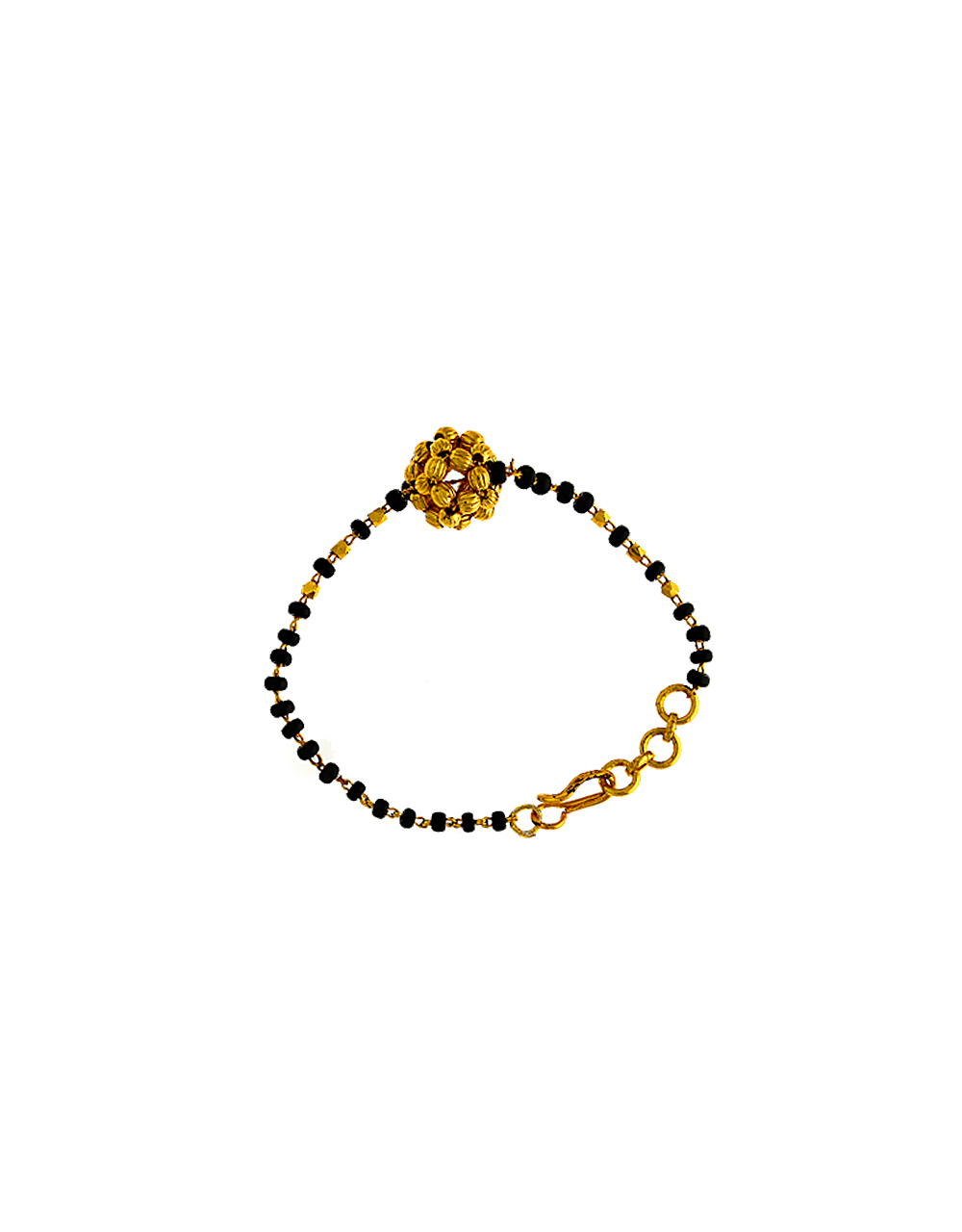 Classy Design Gold Plated Hand Mangalsutra For Women