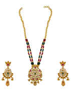 Beautiful Design Studded With Kundan Traditional Pendant For Women