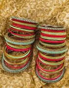Stunning Multi-Colour Matching Bangles For Women Latest Design.