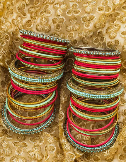 Stunning Multi-Colour Matching Bangles For Women Latest Design.