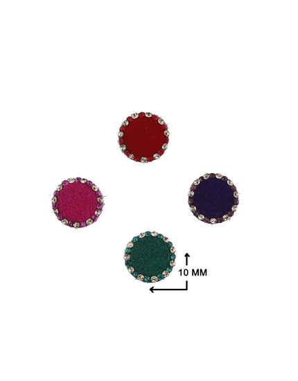 Stunning Multi-Colour Stone Studded Latest Bindi For Women