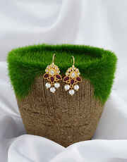 Very pretty cute bugadi with pink and white stones studded for girls/women
