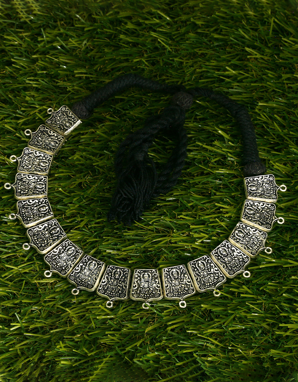 Choker Style Adorable Oxidised Necklace for Women