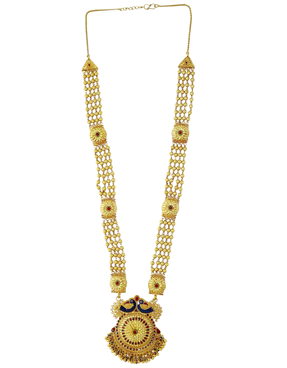 Peacock Inspired Adorable Long Mangalsutra for Women