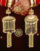 Pink Colour Beautiful Enamel Work Kalire for Bride