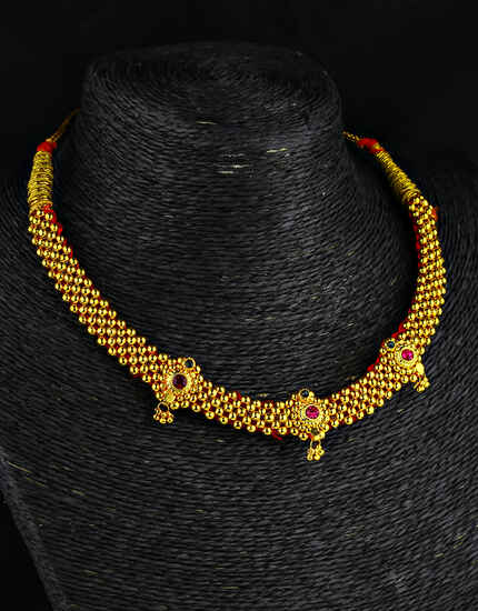 Designer Traditional Thushi Necklace for Women
