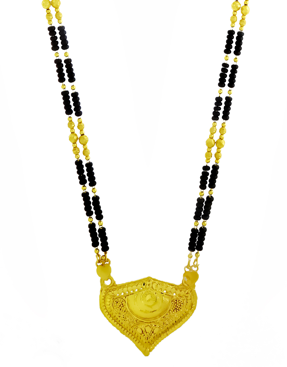Gold Plated Designer Long Mangalsutra for Women With Durable Chain