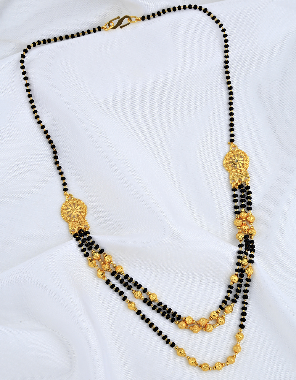 Appealing Three Layers Short Mangalsutra for Women