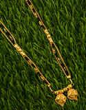 Maharashtrian Style Gold Plated Wati Mangalsutra for Women