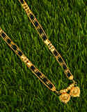Appealing Gold Finish Wati Style Long Mangalsutra for Women