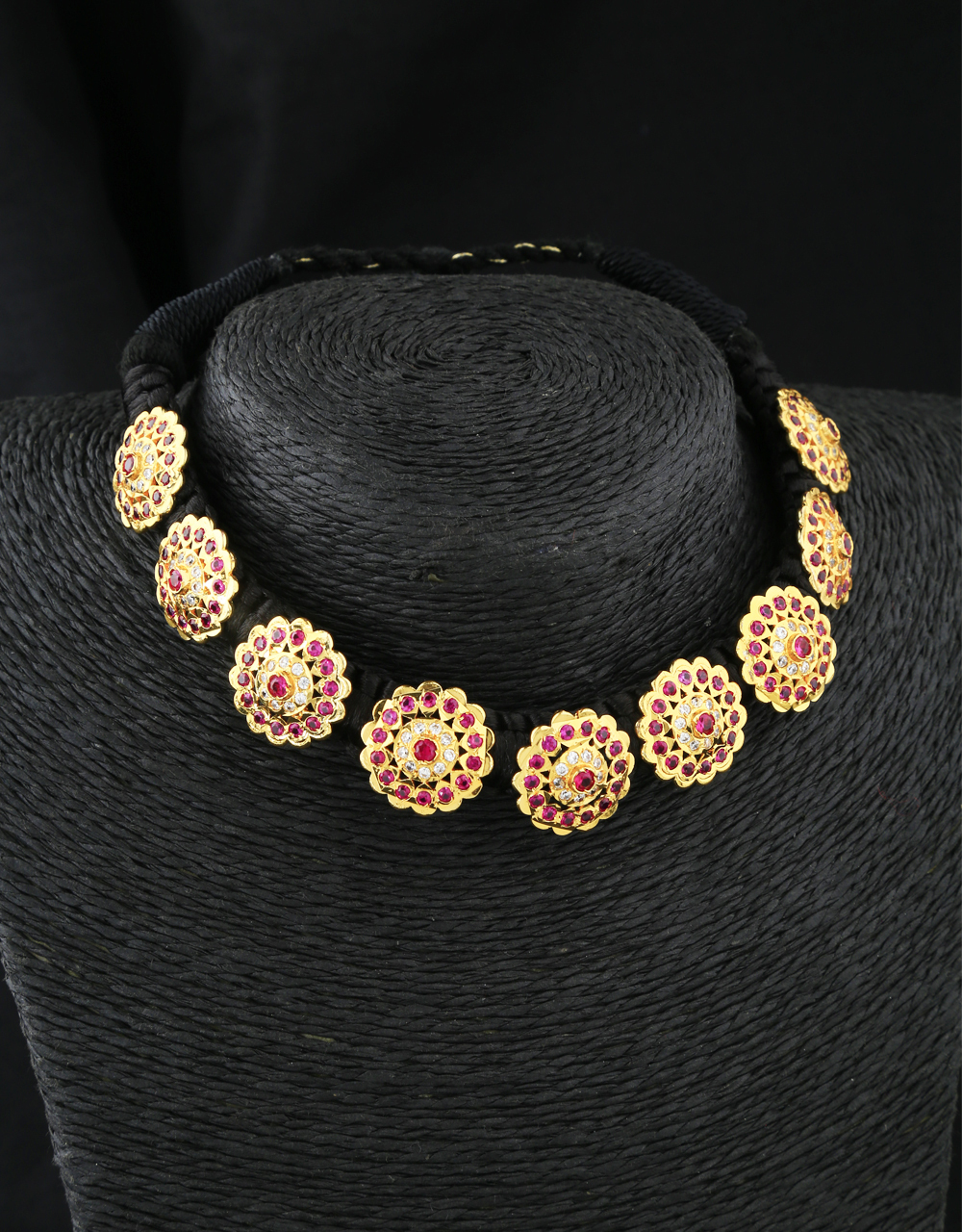 Latest Floral Design Choker Traditional Thushi for Women