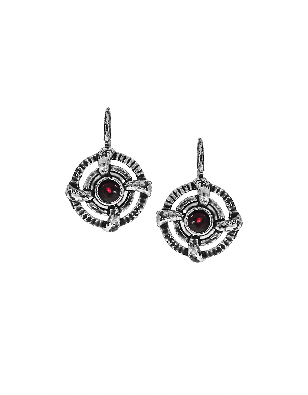 Unique Round Shape Pink Colour Stone Studded Bugadi for Women
