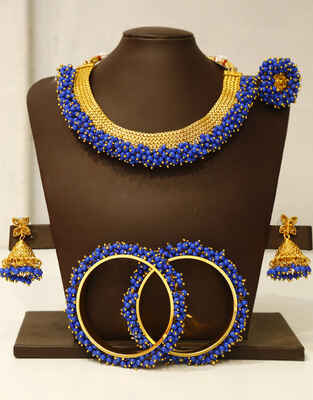 lue Colour Adorable Jewellery Combo Set for Women