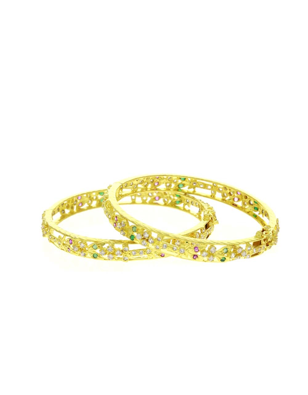 Multi Colour Beautiful Pair of Bangles for Women