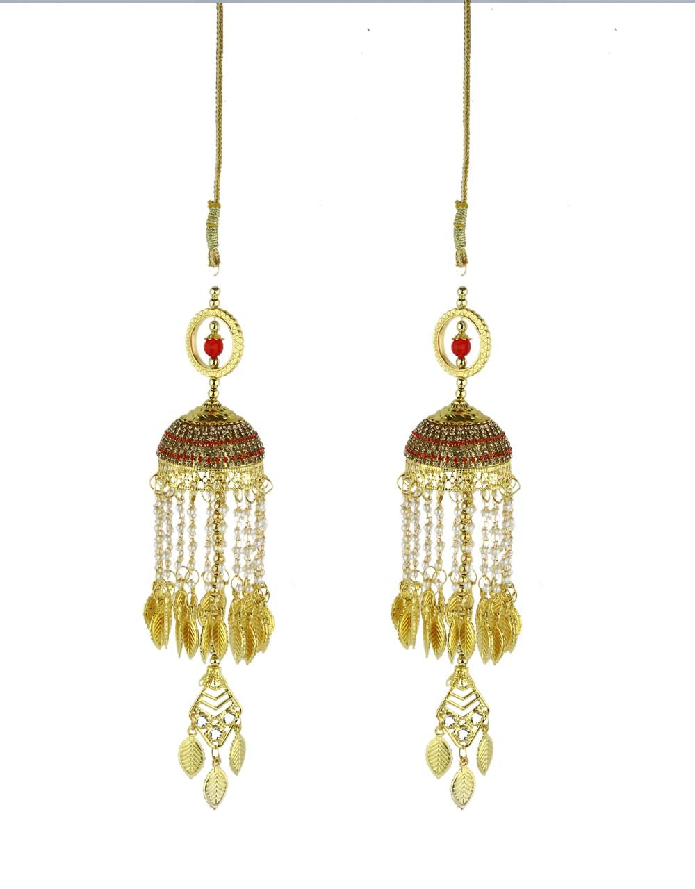 Red Colour Beautiful Pair of Bridal  Kalira for Women