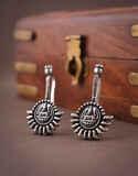 Anuradha Art Jewellery Temple Styled Adorable Silver Bugadi
