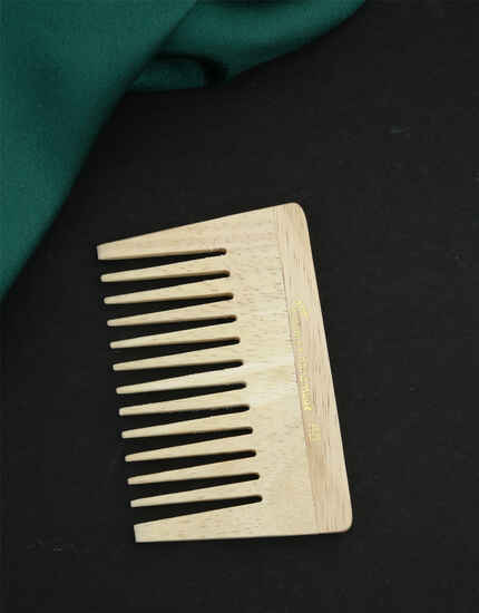 Anuradha Art Wooden Comb Wide Tooth For Hair Growth|Shampoo Hair Comb For Everyone