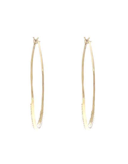 Gold Finish Designer Round Earrings|Bali Earrings For Women & Girls