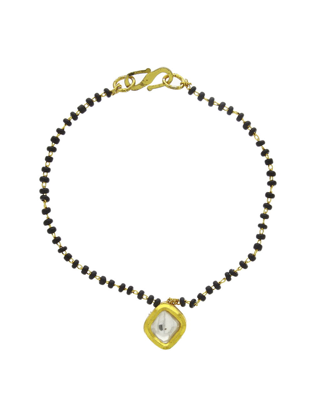 Bangle Style Beautiful Latest Trend Artificial Hand Mangalsutra for Women