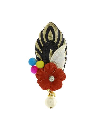 Red Colour Designer Sari Pin For Women Stylish|Saree Pin For Girls|Sari Pin For Women