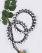 Oxidized Finish Bangles Set  Traditional Kada Bangles Set Tribal Jewellery Boho Bangles For Women