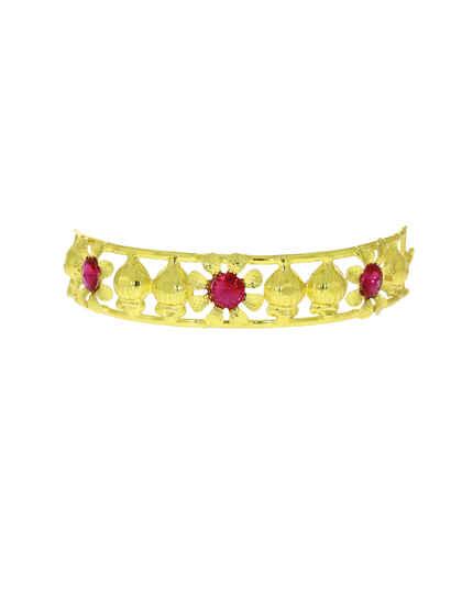 Golden Bajuband/Armlets|Traditional Ganpati Bappa Jewellery|Pooja Accessories|Guari Ganpati Bajuband