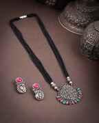 Oxidized Long Mangalsutra Set|Tribal Jewellery For Women|Traditionla Long Mangalsutra For Trendy Women