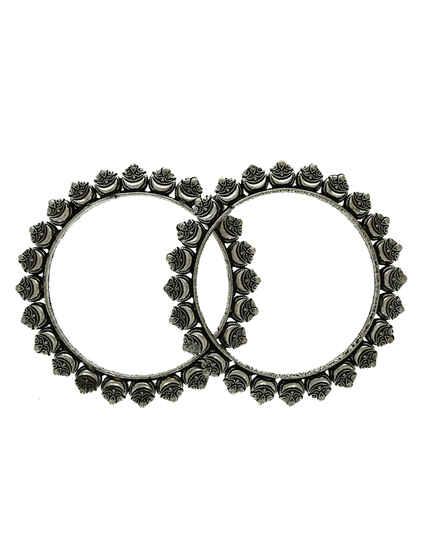 Oxidized Bangles Kada jewellery For Women|Oxidized Jewellery For Women|Navratri Bangles Set For Women