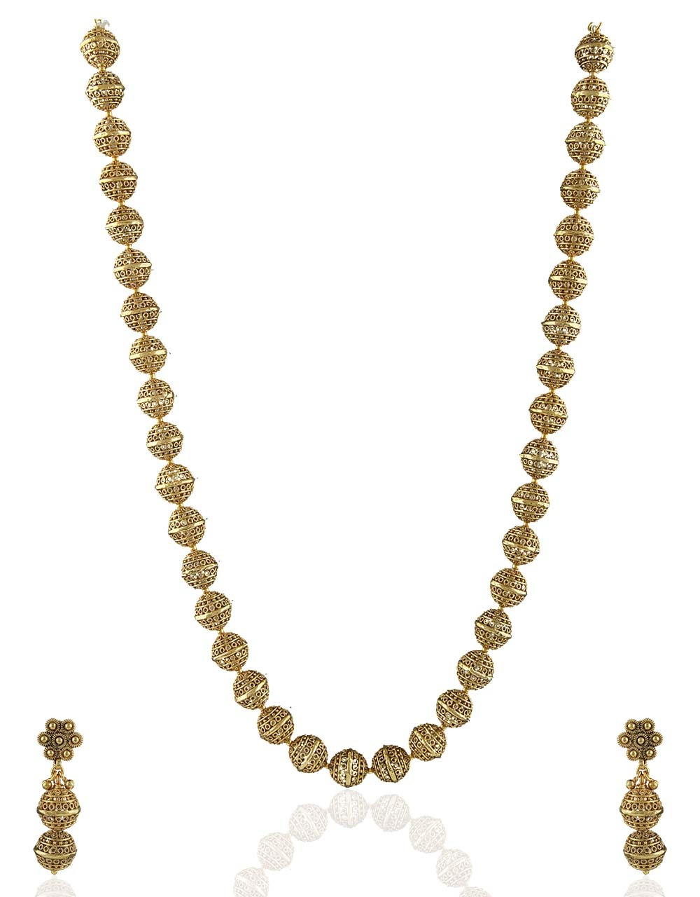 Trendy Golden Beaded Mala