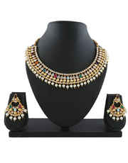 Multi Colour Traditional Indian Wedding Necklace