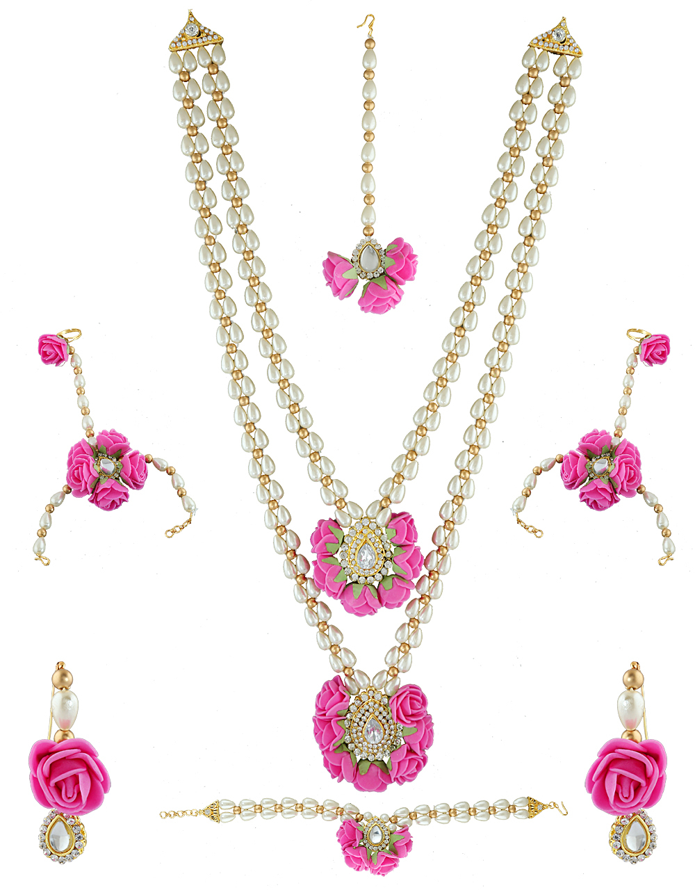 Flower Long Necklace