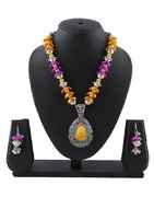Multi Colour Beautiful Pendant Necklace for Women