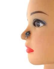 Oxidised Nose Pin
