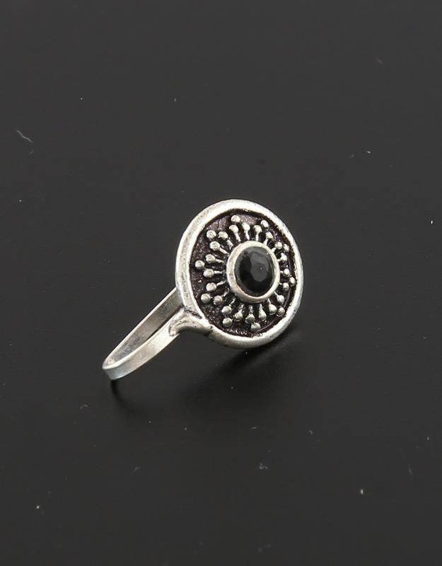 Oxidised Nose Pin