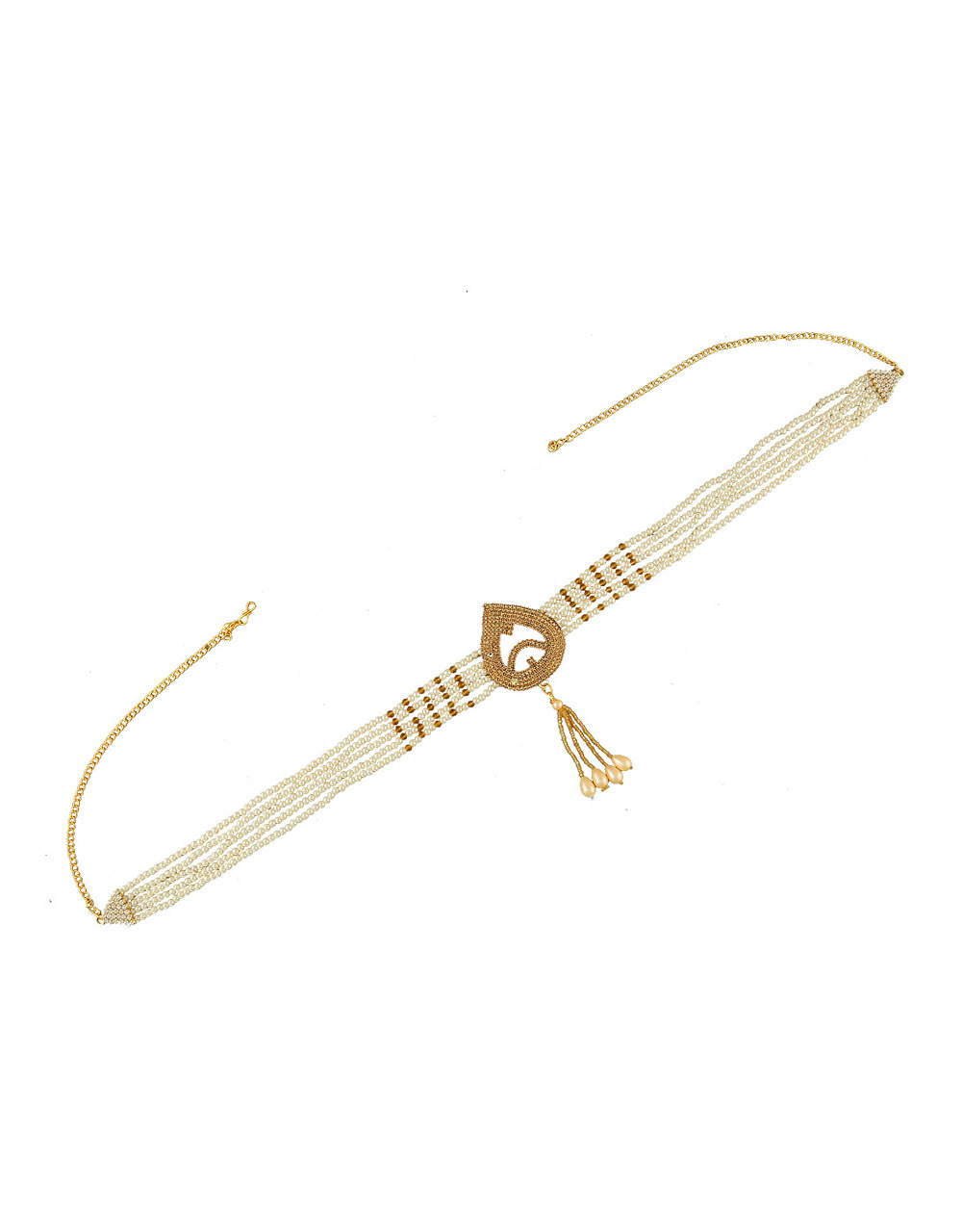 Fancy Kamarband Woven with Moti for Women